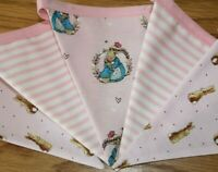 Handmade Mint and Grey Nursery Bunting Disney 101 Dalmatians Fabric Banner