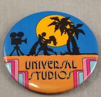 "Vintage Universal Studios Button 1979 Pin Pinback Promo Badge 3"" Theme Park"