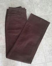 Women's Brown Slacks by Gloria Vanderbilt~Size 6-  97% Cotton  3% Spandex -EUC