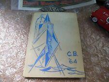 ORIGINAL 1964 MONTEREY BAY ACADEMY YEARBOOK/ANNUAL/JOURNAL/WATSONVILLE, CALIF