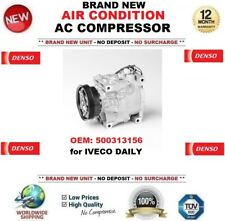 DENSO AIR CONDITION AC COMPRESSOR OEM: 500313156 for IVECO DAILY BRAND NEW UNIT