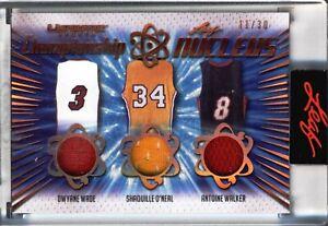 2021 Leaf Ultimate Sports - Championship Nucleus - Game Used Memorabilia - 11/30