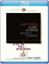 LOVE IN THE AFTERNOON (Audrey Hepburn) - BLU RAY - Region free - Sealed