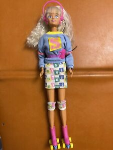 Sindy - Free Wheelin Vintage Hasbro Doll - Personal Stereo - RARE