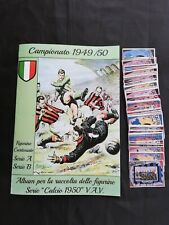 V.A.V Calcio 1950 Album + Set Completo Anastatico 93 Figurine Artigianale