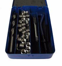 RDGTOOLS 6MM X 1 Helicoil Kit Kit de Reparación de Rosca Insertos Taladro pulse Herramientas