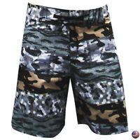 CAMOUFLAGE SUMMER SURF BEACH SPORT MEN'S SWIMWEAR TRUNKS SWIMMING BOARD SHORTS