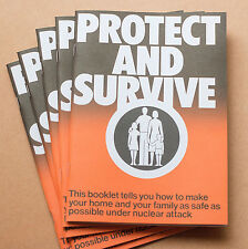 Protect and Survive Booklet 1980, Limited Edition Litho Print Replica