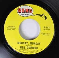 Rock 45 Niel Diamond - Monday, Monday / The Long Way Home On Bang Records