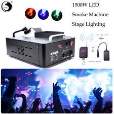U`King 1500W Nebelmaschine LED Bühnenlicht mit Fernbedienung Disco Party DJ DMX