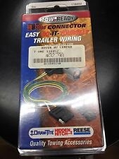 Tow Ready 118452 Wiring T-One Connector 2 Wire System Amp Rating 7.5 OPTIMA