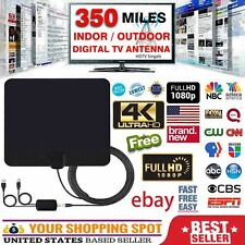 350 Mile Range Hdtv Clear View Antenna Hdtv Clearview Digital TV FOX 4K 13ft