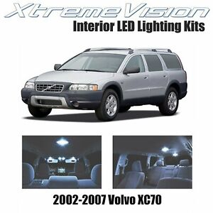 XtremeVision Interior LED for Volvo XC70 2002-2007 (12 PCS) Cool White