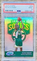 Kevin Durant 2007-08 eTopps Rookie RC #19 Seattle SuperSonics /1499 PSA 9 POP 37