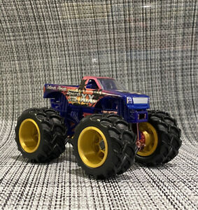 Monster Jam World Finals XX Custom 3D Printed Twin Tractor Tires Spin Master