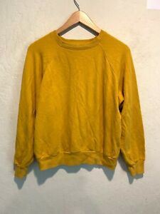 Reformation Jeans Women's Pullover Sweater Top Size SMALL Gold VGUC