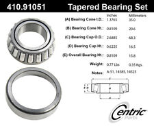 Wheel Bearing and Race Set-C-TEK Bearings Centric fits 2002 Kia Sedona