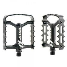 JITSIE VARIAL CAGED ALLOY ALUMINIUM CYCLE CYCLO TRIALS BIKE PEDALS. **BLACK**