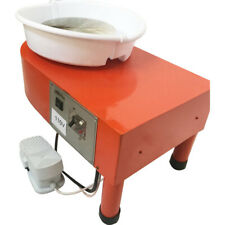 250w Detachable Red Electric Pottery Wheel Machine Ceramic Work Clay Art Craft