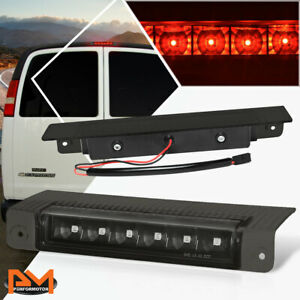 For 03-17 Chevy Express/GMC Savana LED Third 3RD Tail Brake Light/Lamp Tinted