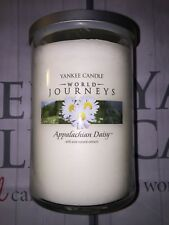 Yankee Candle Appalachian Daisy World Journeys 2 wick Large Tumbler Jar