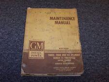 1946 GMC Series 71 Diesel Model 1-71 2-71 3-71 Service Repair Maintenance Manual
