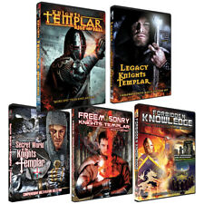Knights Templar - Freemasons - Awesome DVD BOXED SET! Great Gift and Best Set!