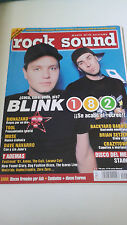 "REVISTA ""ROCK SOUND NUMERO 41"" BLINK 182 BIOHAZARD TOOL MUSE BRIAN SETZER"