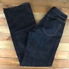 Gap Essential Jeans Womens Size 0 Reg (28x31) Mid Rise Dark Wash Bootcut Stretch