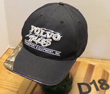 VOLVO TRUCKS TRANSPORT EQUIPMENT MISSOULA SPOKANE HAT BLACK/CAMO VGC D18