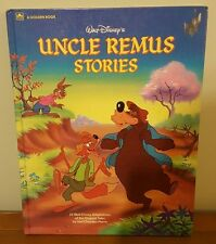 1986 Disney's Uncle Remus Stories Hardcover, Rare Giant Golden Book
