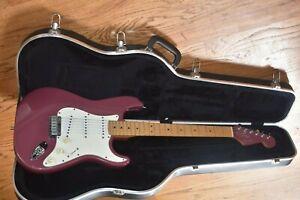 1995 American Fender Stratocaster Burgundy Mist w/ Matching Headstock Excellent!