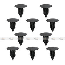 10x Bumper Shield Clip Fender Retainer Christmas Tree For GM For Ford 389358