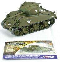 Corgi Sherman M4A3 (Late) – US Army - Clervaux Castle 1:50 Die-Cast Tank CC51031