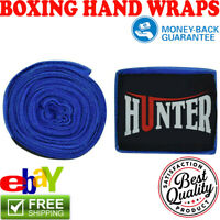Hand Wraps Mexican Bandages Boxing Fist Inner Gloves MMA Blue