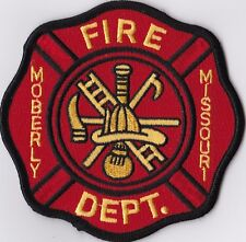Moberly Fire Department Missouri patch NEW