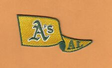 OAKLAND A's ATHLETICS PENNANT PATCH HAT POLO SHIRT IRON ON SEW ON Unsold Stock