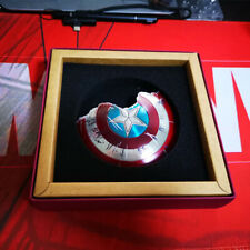 BY-ART 1/6 S1 S2 Captain America Battle Damaged Metal Shield Model Accessory