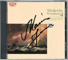 Mariss JANSONS Signiert TCHAIKOVSKY Symphony 4 Olso Philharmonic Tschaikowski CD