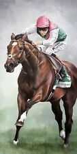 More details for frankel ridden by tom queally 52 art print (horse racing) panoramic photo prints