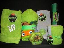Teenage Mutant Ninja Turtles 10PC Bath/Bathroom Accessory Set *New*