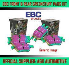 EBC GREENSTUFF FRONT + REAR PADS KIT FOR FIAT SEDICI 1.6 2009-14