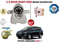 FOR TOYOTA VANGUARD 2.4 3.5 V6 8/2007 > NEW REAR RIGHT SIDE BRAKE CALIPER