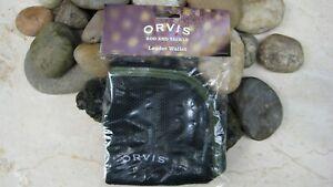 Orvis Mesh Leader Wallet, Black, NWP!