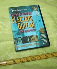 USED❤DVD•FENDER: GETTING STARTED ON ELECTRIC BASS•Wyatt•music•lessons☮user guide