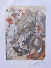 Salvador Dali PARADISE #25 Facsimile Signed Ltd Edition Lithograph DIVINE COMEDY