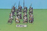 item fantasy / warhammer - order drukhari dark elf spearmen 16 sigmar - (19704)
