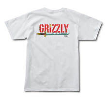 Grizzly Griptape x Adventure Time Grizzly Time Tee - White - Large