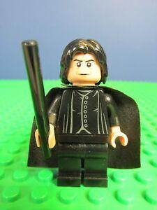 genuine LEGO HARRY POTTER PROFESSOR SNAPE minifigure set hogwarts 4842 lot 3221