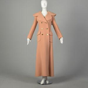 Attributed to Christian Dior Full Length Blanket Coat Maxi Designer Autumn VTG